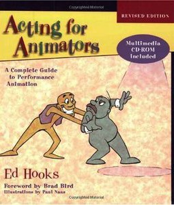 Awesome animation books acting for animators