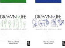 best animation books drawn to life