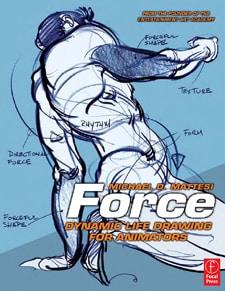 Fantastic animation books force