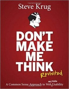 Book: Don't Make Me Think