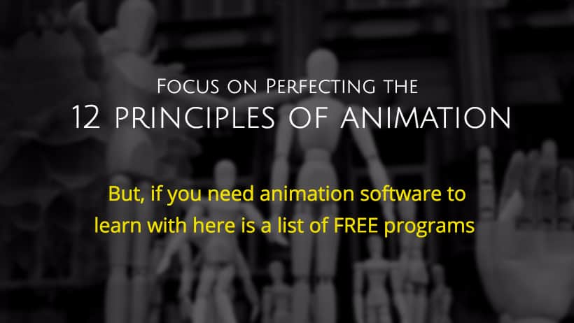 Best free animation software for download